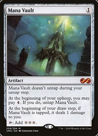 Mana Vault, Magic: The Gathering, Ultimate Masters