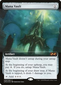 Mana Vault, Magic: The Gathering, Ultimate Masters: Box Toppers