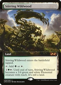 Stirring Wildwood, Magic, Ultimate Masters: Box Toppers