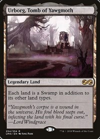 Urborg, Tomb of Yawgmoth, Magic: The Gathering, Ultimate Masters