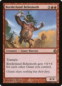 Borderland Behemoth, Magic: The Gathering, Morningtide