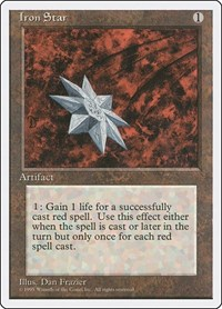 Iron Star, Magic: The Gathering, Fourth Edition