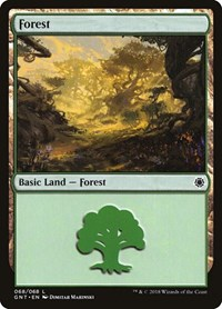 Forest (68), Magic: The Gathering, Magic Game Night