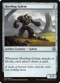 Howling Golem, Magic: The Gathering, Magic Game Night