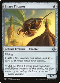 Snare Thopter, Magic: The Gathering, Magic Game Night