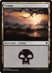 Swamp (63), Magic: The Gathering, Magic Game Night