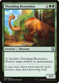 Thrashing Brontodon, Magic: The Gathering, Magic Game Night