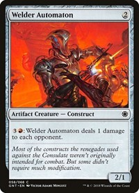 Welder Automaton, Magic: The Gathering, Magic Game Night