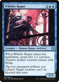 Whirler Rogue, Magic, Magic Game Night