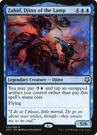 Zahid, Djinn of the Lamp, Magic: The Gathering, Magic Game Night
