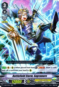 Battlefield Storm, Sagramore, Cardfight Vanguard, V-EB03: ULTRARARE MIRACLE COLLECTION