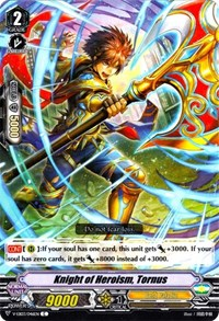 Knight of Heroism, Tornus, Cardfight Vanguard, V-EB03: ULTRARARE MIRACLE COLLECTION