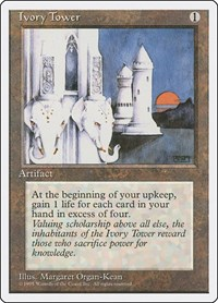 Ivory Tower, Magic: The Gathering, Fourth Edition
