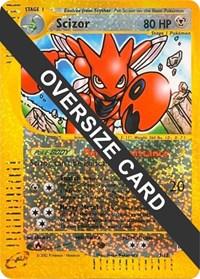 Scizor - 7/12 (Box Topper), Pokemon, Jumbo Cards