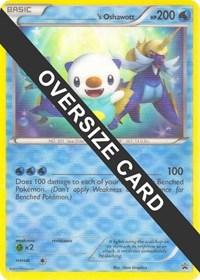 ______'s Oshawott, Pokemon, Jumbo Cards