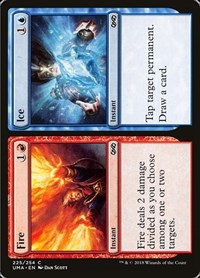 Fire // Ice, Magic: The Gathering, Ultimate Masters