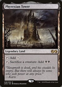 Phyrexian Tower, Magic: The Gathering, Ultimate Masters