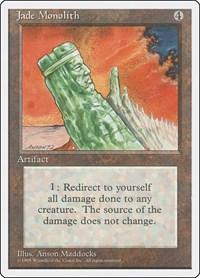Jade Monolith, Magic: The Gathering, Fourth Edition