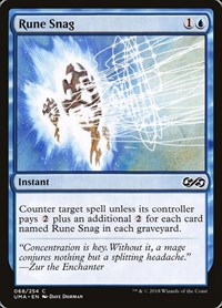 Rune Snag, Magic: The Gathering, Ultimate Masters