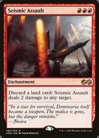 Seismic Assault, Magic: The Gathering, Ultimate Masters