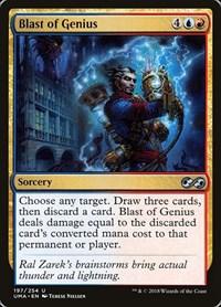 Blast of Genius, Magic: The Gathering, Ultimate Masters