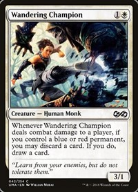 Wandering Champion, Magic: The Gathering, Ultimate Masters