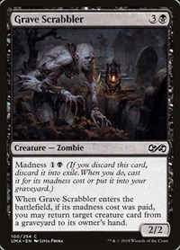 Grave Scrabbler, Magic: The Gathering, Ultimate Masters
