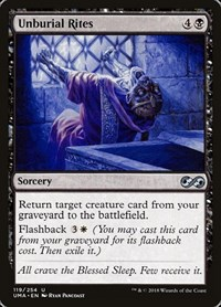 Unburial Rites, Magic: The Gathering, Ultimate Masters