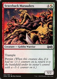 Scuzzback Marauders, Magic: The Gathering, Ultimate Masters