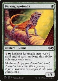 Basking Rootwalla, Magic: The Gathering, Ultimate Masters