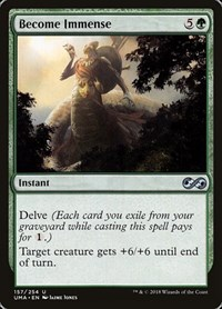 Become Immense, Magic: The Gathering, Ultimate Masters