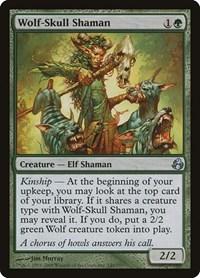 Wolf-Skull Shaman, Magic: The Gathering, Morningtide
