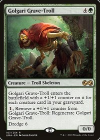 Golgari Grave-Troll, Magic: The Gathering, Ultimate Masters