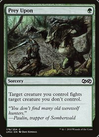 Prey Upon, Magic: The Gathering, Ultimate Masters