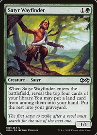 Satyr Wayfinder, Magic: The Gathering, Ultimate Masters