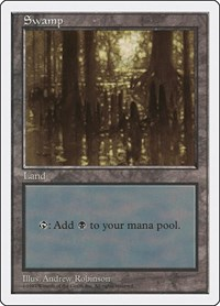 Swamp (438), Magic: The Gathering, Fifth Edition
