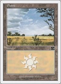 Plains (333), Magic: The Gathering, Classic Sixth Edition