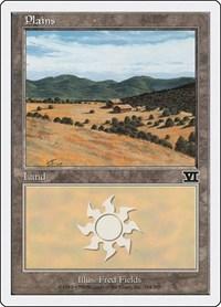 Plains (334), Magic: The Gathering, Classic Sixth Edition