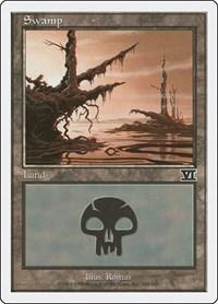 Swamp (342), Magic: The Gathering, Classic Sixth Edition