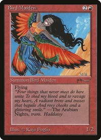 Bird Maiden (Light), Magic: The Gathering, Arabian Nights
