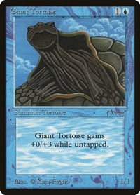Giant Tortoise (Light), Magic: The Gathering, Arabian Nights