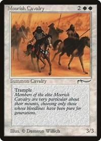 Moorish Cavalry (Light), Magic: The Gathering, Arabian Nights