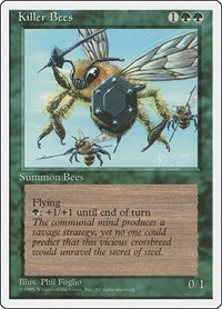 Killer Bees, Magic: The Gathering, Fourth Edition