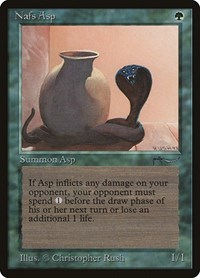Nafs Asp (Light), Magic: The Gathering, Arabian Nights