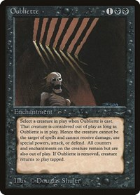 Oubliette (Light), Magic: The Gathering, Arabian Nights