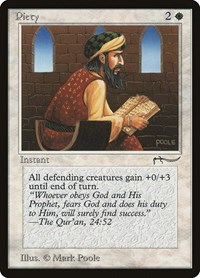 Piety (Light), Magic: The Gathering, Arabian Nights
