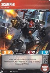 Scamper - City Patrol (Wave 1A - Metroplex), Transformers TCG, Wave 1