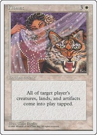 Kismet, Magic: The Gathering, Fourth Edition