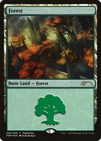 Forest (2019), Magic: The Gathering, MagicFest Cards