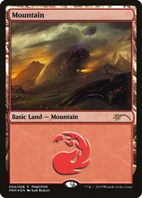 Mountain (2019), Magic: The Gathering, MagicFest Cards